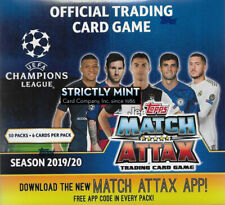 Total of 210 Cards 7 Cards per Pack Pulisic /& More! 30-Pack Box Ronaldo Salah Neymar Pogba Mbappe Look for Superstars Messi Topps 2018-19 Match Attax Champions League Cards