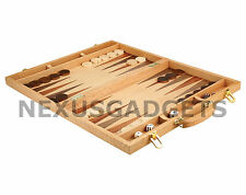 Wood Board Game Set 12 Book Classic Collection Vol 2 Backgammon Wooden Inlaid