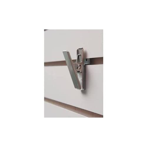 6 Chrome Display Hooks For Panel Econoco Slatwall Deluxe Hooks Slatwall hooks Вundlе оf Fіvе