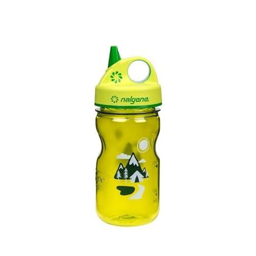 Nalgene Grip-N-Gulp Children/'s Water Bottle Blue Seahorse