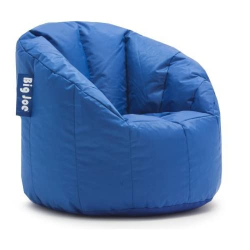 Awesome Buy Big Joe Milano Bean Bag Chair Stadium Blue With Ubuy Frankydiablos Diy Chair Ideas Frankydiabloscom