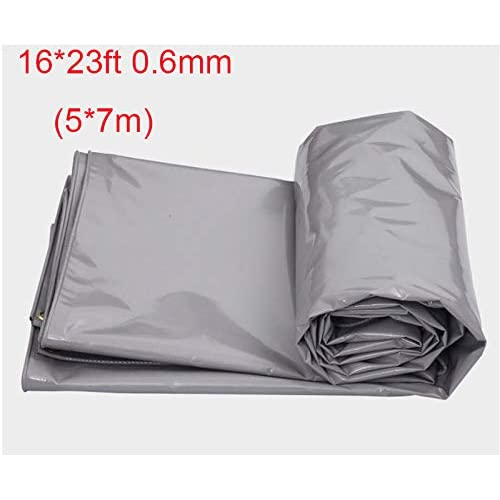 -8x10-Sliver EasyGoProducts EGP-NCR-TARP2-M Hercules Tent Shelter Cover Waterproof Tarpaulin Plastic Tarp Protection Sheet for Con