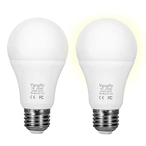2pack 60w Equivalent Light Sensor Dusk To Dawn Bulb Lohas