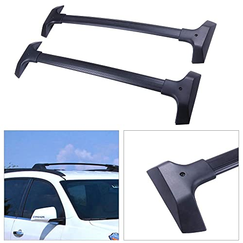 OCPTY Roof Rack Cross Bar Cargo Carrier Fit for 2015-2018 Cadillac Escalade//Cadillac Escalade ESV//Chevrolet Suburban//Chevrolet Tahoe//GMC Yukon//GMC Yukon X Roof Rack Crossbars