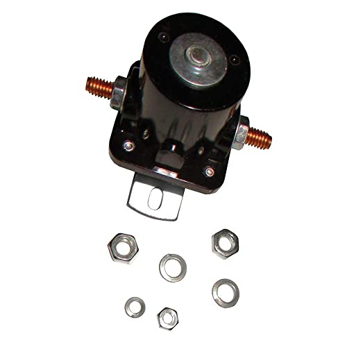 MIDIYA New Ford Hot Rod Starter Relay Solenoid 12V Heavy Duty SW3 Fits Most Ford 1956-up and Replaces B-6A-11450A,C6AF,C7AF,C3912 C9AF,D2AF11450AA 50-430