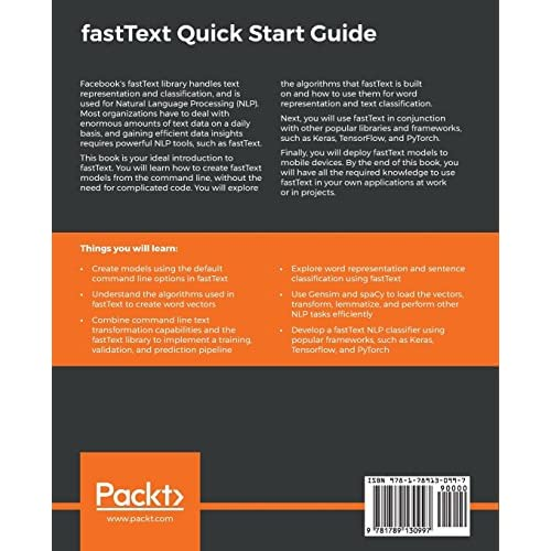Buy fastText Quick Start Guide: Get started with Facebook's