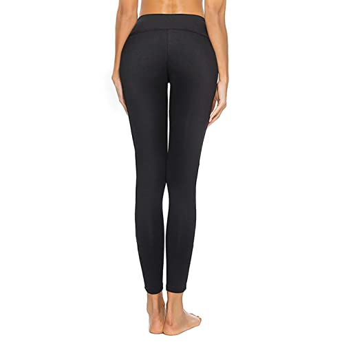 Non See-Through Capri High Waisted Tummy Control 4 Way Stretch romansong Womens Mesh Leggings Yoga Pants with Pocket