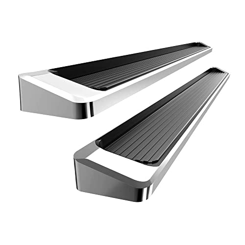 """17-19 F250 iBoard Running Boards 6/"""" Fit 15-19 Ford F150 SuperCrew Cab"""
