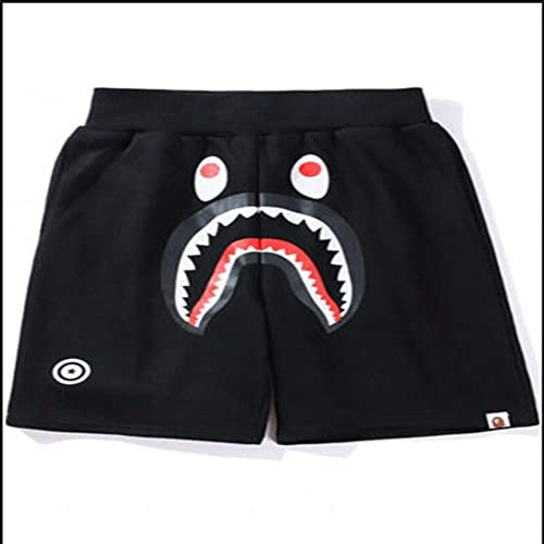 New A Bathing Ape Pants Japan Men/'s Short Bape Shark Jaw Shorts Camo Print Pants