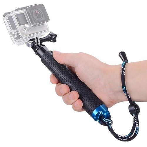 7-19 inch Telescopic Handheld Pole Monopod for GoPro HD Hero 5//4//3+//3//2//1 MyArmor Rubberized Aluminum Hand Grip Waterproof Selfie Stick Extendable