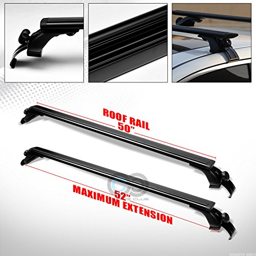 Key BE 53/'/' Car Top Roof Cross Bars Crossbars Luggage Cargo Carrier Rack Frame