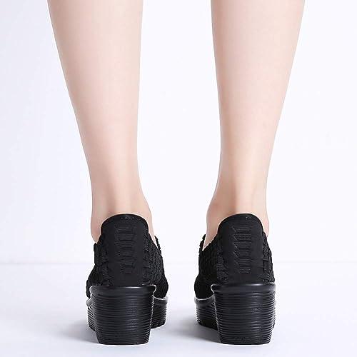 New Klogs Footwear USA Women/'s Silverton Black Prism Mary Jane Platform Shoes