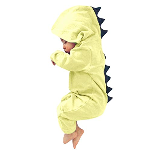POTO Newborn Infant Baby Girl Boy Dinosaur Romper Jumpsuit Outfits Clothes Set Summer Baby Playsuit Clothing