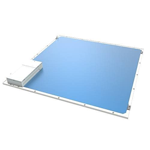 for Office 90lm//w Hotel,etc 0.39 Dimmable 0-10V Led Flat Ceiling Panel Lights Home Ultra-Thin 2x2 FT Square Recessed LED Panel Light 40W FCC /& UL Aluminum Die Casting 5500K 2 Pack
