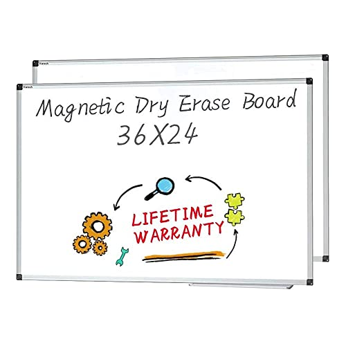 Office Marshal Professional Magnetic Dry Erase Board Test Score Excellent White Board 36 X 24 A 1 3 Presentation Boards Surclima Dry Erase Boards