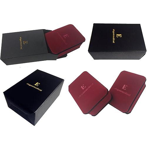 elegantmedical Handmade Rose Pink Veluriyam Rose Beads Rosary /& Italy Cross Medal Catholic Necklace Gift Box