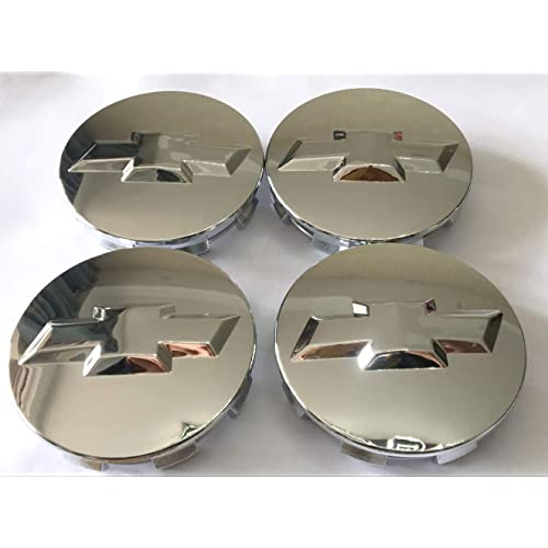 20941994 US Fast Shipment 20942002 Gosweet 1X One Piece Chrome Wheel Center Hub Cap for Chevrolet Chevy Center Cap Brushed Tahoe Suburban Silverado 2014-2017 3.25 83mm 22837060