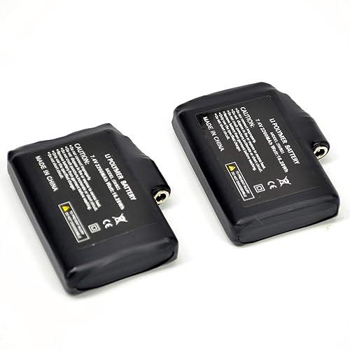 SAVIOR battery for gloves,socks and hat 2 pcs