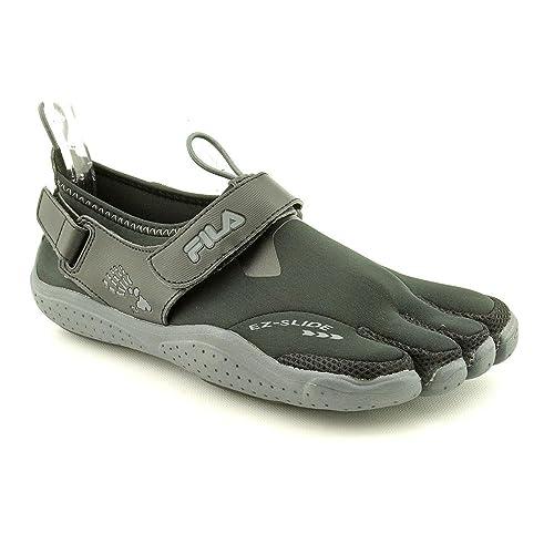 8564770cabfbf Fila Men's Skele-Toes Ez Slide Drainage Shoes