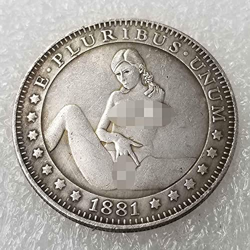 Hobo Nickel Morgan Dollar Coin Souvenir For Collectors USA