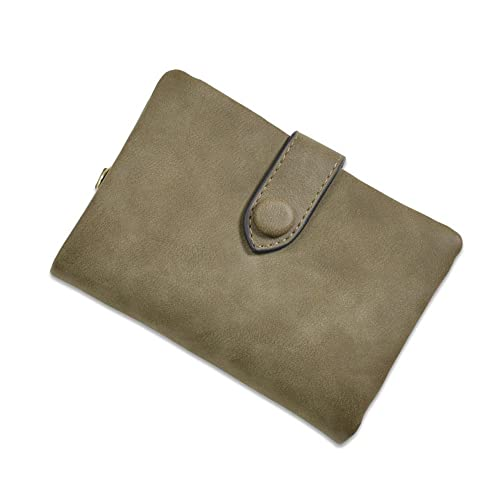 e8dd2d271757 Buy Womens RFID Blocking Soft Leather Short Wallet with Wrist Strap ...