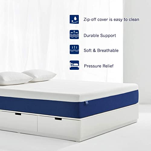 18CM Memory Foam Mattress in a Box Single Size Bed,90x190x18CM Molblly Single Mattress Breathable Bed Comfortable Mattress with CertiPUR-US Certified Foam for Sleep Supportive /& Pressure Relief