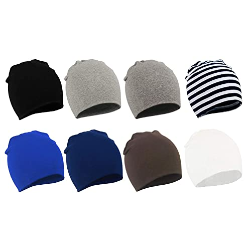 Zando Baby Kids Cotton Knit Beanie Hat for Baby Boys Newborn Lovely Cap Toddler Infant Soft Cute Hat Cap for Baby Girls