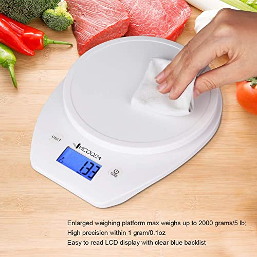 30731a8403dc Buy Digital Food Scale, Vicooda Kitchen Scale Electronic Weight ...