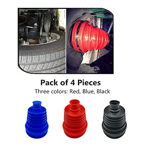 Height Blue 5 inch 125mm CV Boots Joint Replacement Cover Performance Silicone Rubber Flexible Constant Velocity Joint