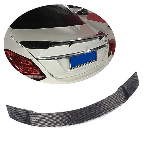Carbon Fiber V Style Rear Trunk Lip Spoiler Wing for C Class W204 2-door Coupe 2007-2014 Fandixin W204 Spoiler