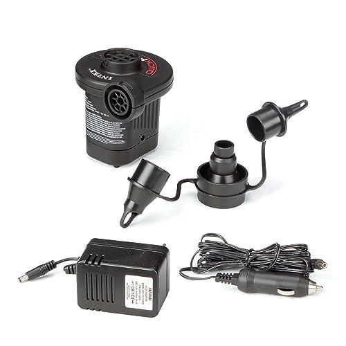 Max 110-120 Volt Intex Quick-Fill Rechargeable Air Pump Air Flow 21.2CFM