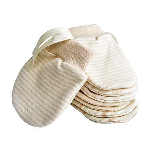 /1/1//2 Cosily Warm Natural Product SamWo Baby Mittens made from real Lambs Wool for Children aged 0/ Colour: Natural