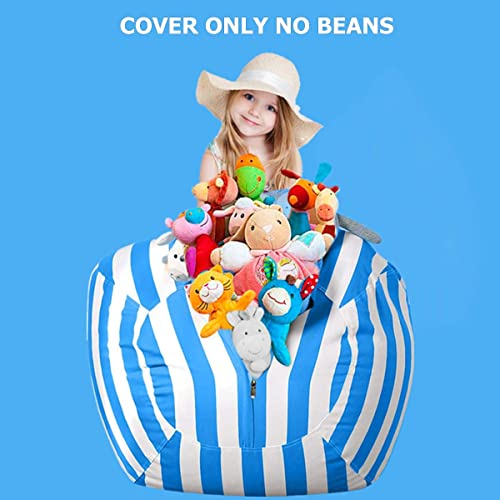 Cool Buy Wekapo Stuffed Animal Storage Bean Bag Chair For Kids Camellatalisay Diy Chair Ideas Camellatalisaycom