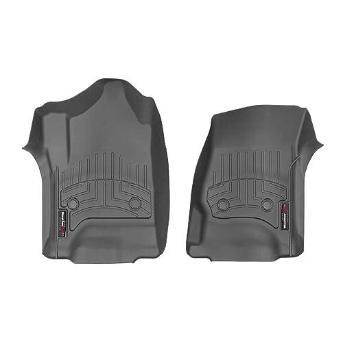 WeatherTech FloorLiner for Silverado//Sierra Double Cab 1st//2nd Row Black