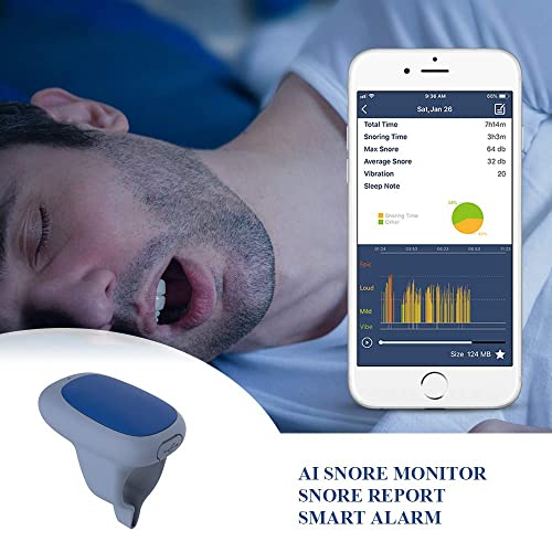 Buy Snore Stopper: Viatom Smart Anti Snoring Solution Ring