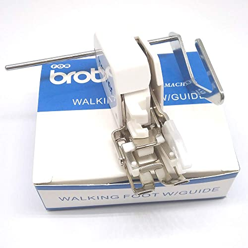 Even Feed//Walking Foot w// Quilt Guide P60444 for Low Shank Singer Brother SA140