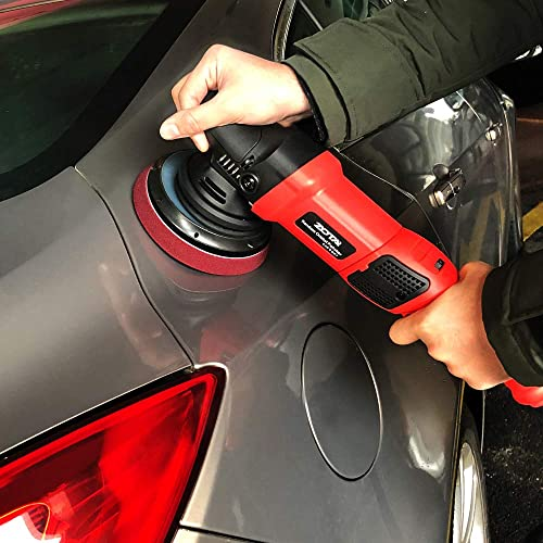 Random Orbital Polisher Car Buffer Sander DA Dual Action Polishing Waxing Kit