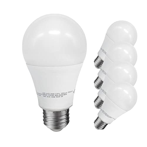 Soft White 1550 Lumens 3000K Great Eagle 100W Replacement A19 LED Bulb