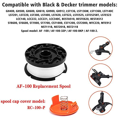 Buy LIYYOO Line String Trimmer Replacement Spool 30ft 0 065