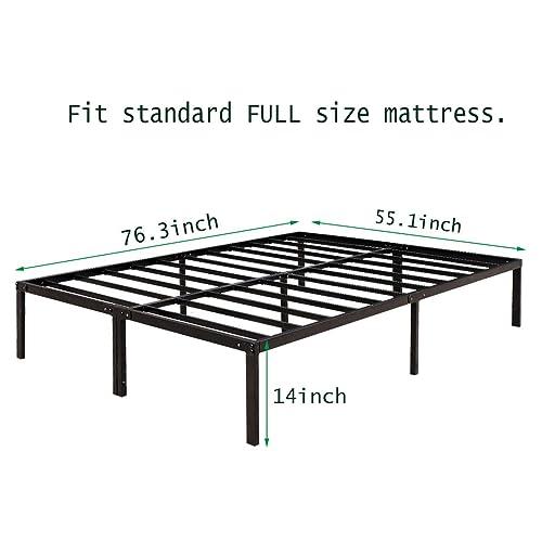 brand new 16117 48122 Buy HAAGEEP Metal Platform Bed Frame Full with Storage 14 ...