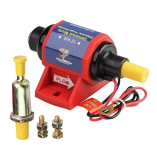 12V Universal Micro Electric Fuel Transfer Pump Diesel 5//16 inch 35 GPH 4-7 PSI