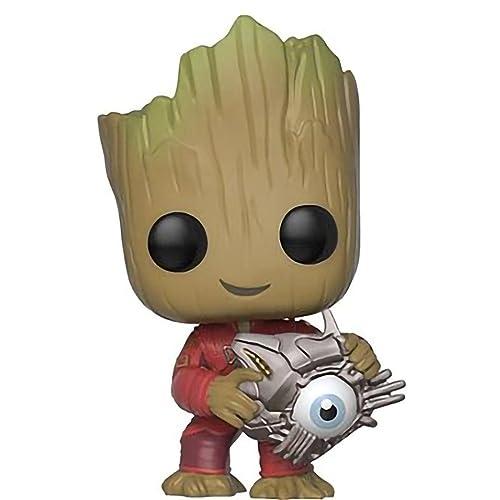 Funko Pop Marvel Guardians Of Galaxy 2 Groot FYE Exclusive In Protector #280