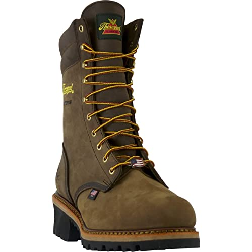 fa0561d58f7 Buy Thorogood Men's Logger Series - 9 Waterproof, Safety Toe Boot ...