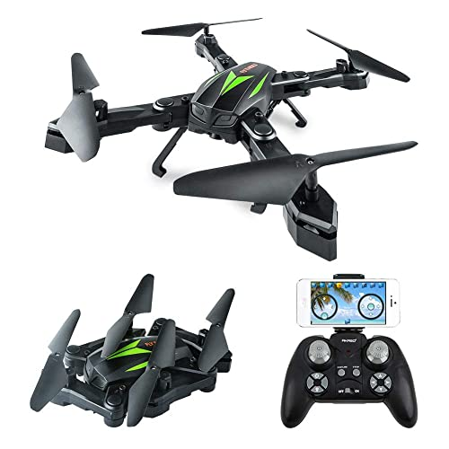 Follow Me Quadcotper with Auto Return Home Altitude Hold Tap Fly Functions Includes 2 Batteries and Carrying Backpack HUKKKYVIT sbg616 Foldable GPS Drone with Camera for Adults 2k HD FPV