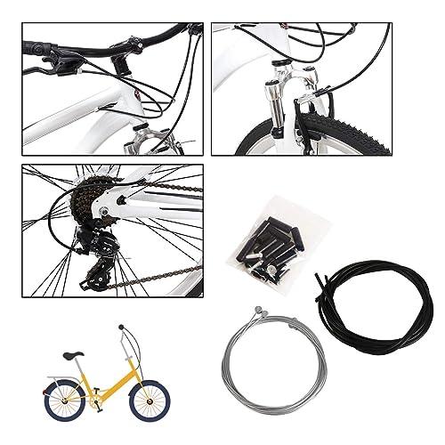 "Herbalcandybox Bike Brake Cables /& Housing 2.5 Meters Long Mountain Shift Gear /"""