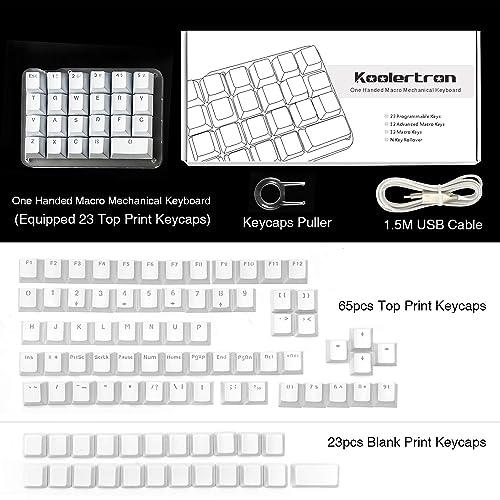Buy Koolertron One Handed Macro Mechanical Keyboard