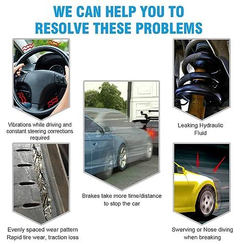 Front Complete Struts /& Rear Shock Absorber Bundle for 2006-2010 Hyundai Sonata