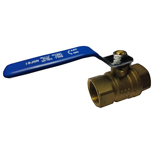 Pack of 2 EFIELD H/öger 1//2 Inch Push-Fit Full Port Ball Valve HOT AND COLD No Lead Brass UPC Certified-2 Pieces