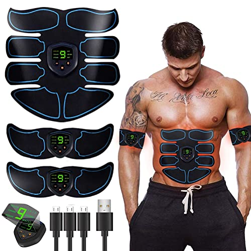 Smart Fitness EMS Beauty Body Remote Control Abdominal Muscle Trainer Mobile Gym