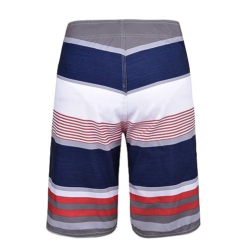 Mens Summer Swim Trunks Quick Dry Beach Board Shorts Mesh Lining,Birthday Fox